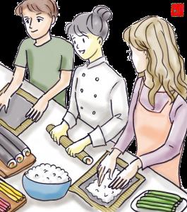 cours de cuisine japonaise à Orléans