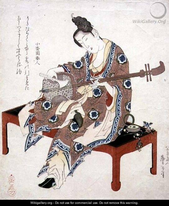 joueur de shamisen