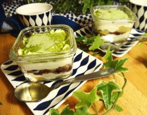 tiramisu au thé vert